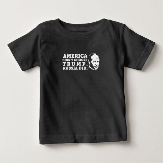 Russia Chose Trump Baby Fine Jersey T-Shirt