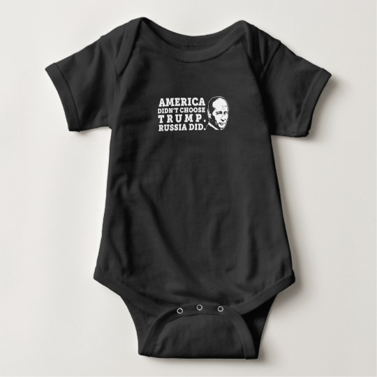 Russia Chose Trump Baby Jersey Bodysuit