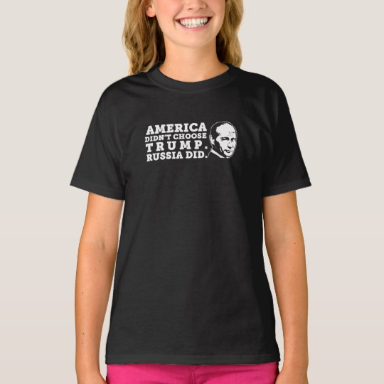 Russia Chose Trump Girls Basic T-Shirt