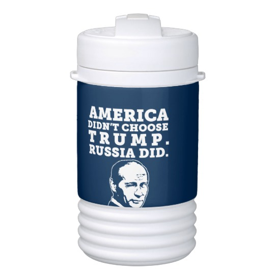 Russia Chose Trump Igloo Beverage Cooler - One Quart