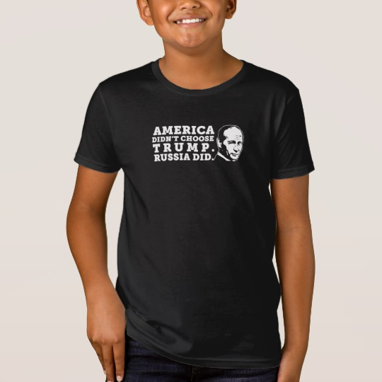 Russia Chose Trump Kids' American Apparel Organic T-Shirt