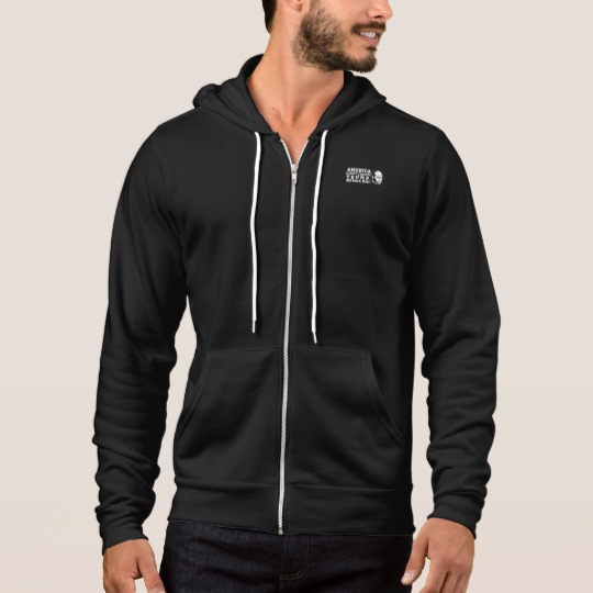 Russia Chose Trump Men's Bella+Canvas Full-Zip Hoodie