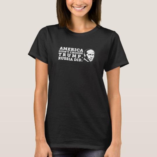 Russia Chose Trump Women's Basic T-Shirt