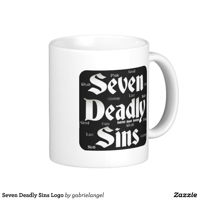 Seven Deadly Sins Logo Mug
