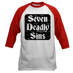 The Seven Deadly Sins Baseball Jersey