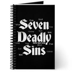 The Seven Deadly Sins Journal
