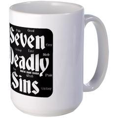 The Seven Deadly Sins Large Mug