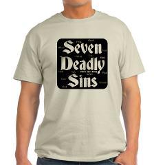 The Seven Deadly Sins Light T-Shirt