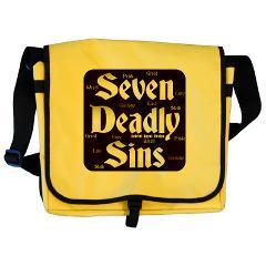 The Seven Deadly Sins Messenger Bag