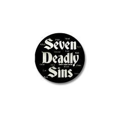 The Seven Deadly Sins Mini Button