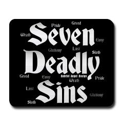 The Seven Deadly Sins Mousepad