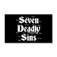 The Seven Deadly Sins Rectangle Sticker