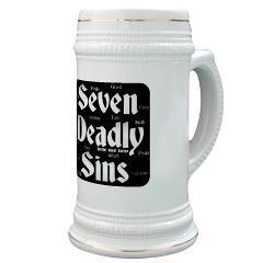 The Seven Deadly Sins Stein