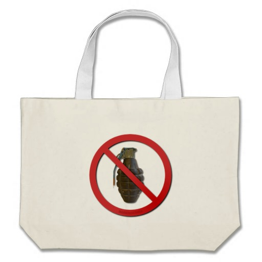 No Grenades Bag
