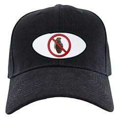 No Grenades Black Cap