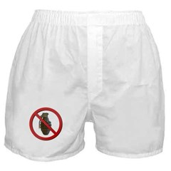 No Grenades Boxer Shorts