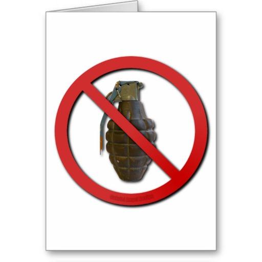 No Grenades Cards