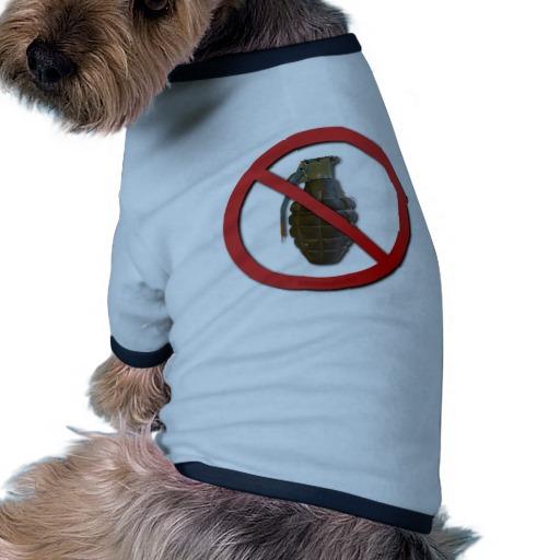 No Grenades Doggie Tshirt