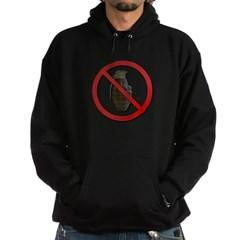 No Grenades Hoodie (dark)