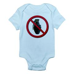 No Grenades Infant Bodysuit