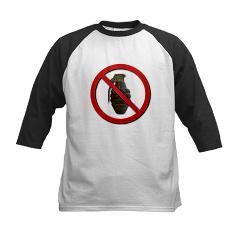 No Grenades Kids Baseball Jersey