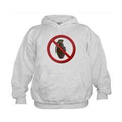 No Grenades Kids Hoodie