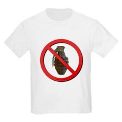No Grenades Kids Light T-Shirt