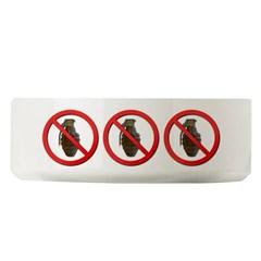 No Grenades Large Pet Bowl