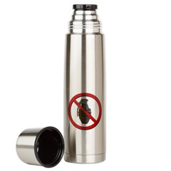 No Grenades Large Thermos Bottle