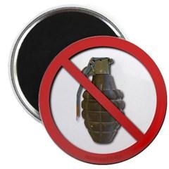 No Grenades Magnet