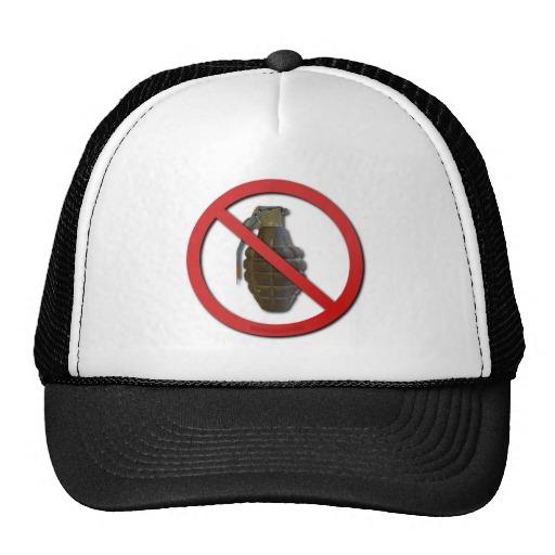 No Grenades Mesh Hats