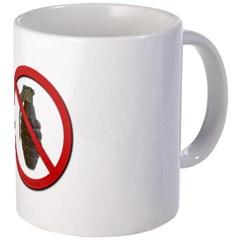 No Grenades Mug