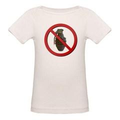 No Grenades Organic Baby T-Shirt