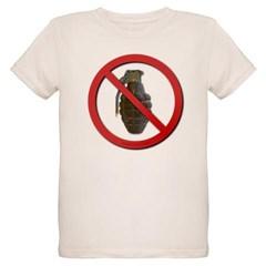 No Grenades Organic Kids T-Shirt
