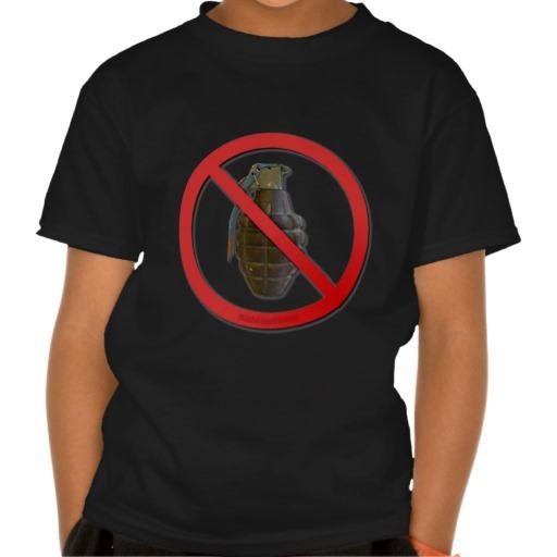 No Grenades Shirts