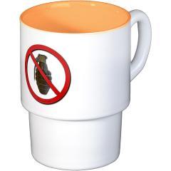No Grenades Stackable Mug Set (4 mugs)