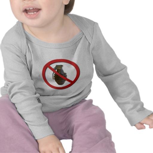 No Grenades T Shirts