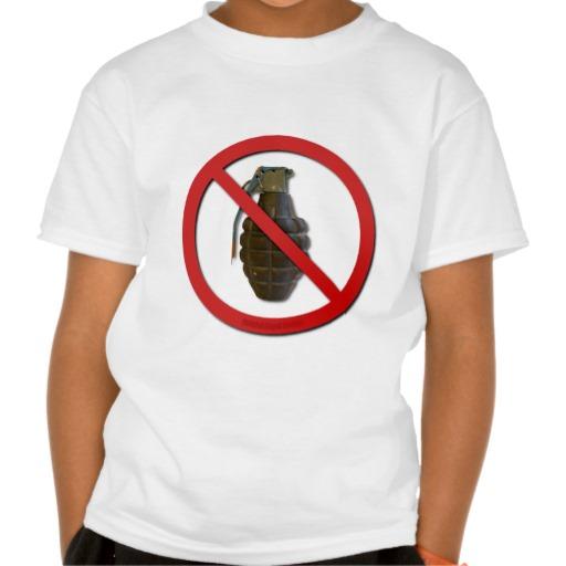 No Grenades Tees