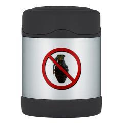 No Grenades Thermos Food Jar