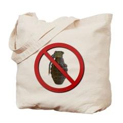No Grenades Tote Bag