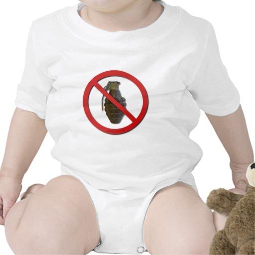 No Grenades Tshirts