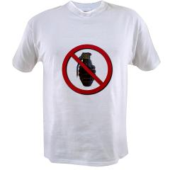 No Grenades Value T-shirt