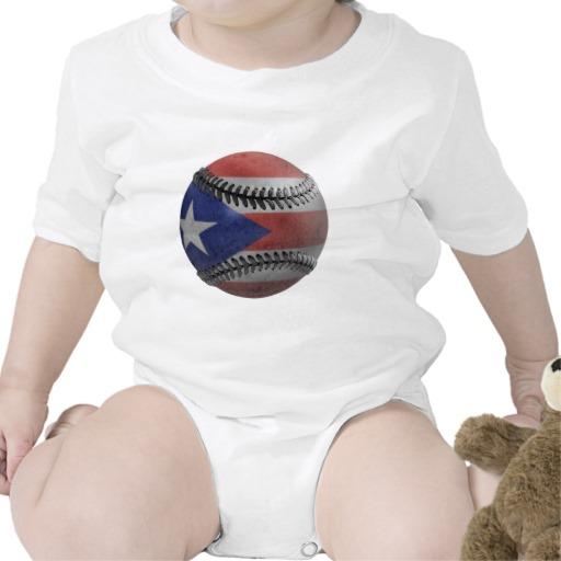 Puerto Rican Baseball Bodysuit