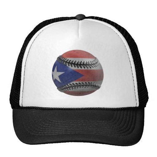 Puerto Rican Baseball Mesh Hats