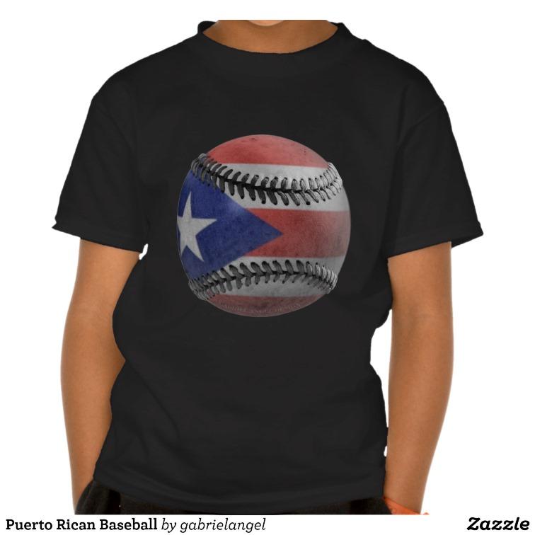 Puerto Rican Baseball Shirts