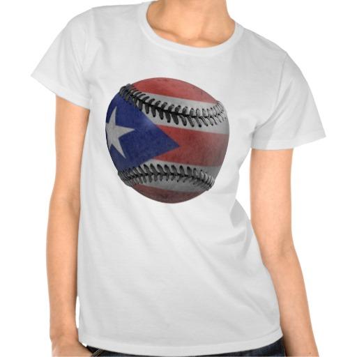 Puerto Rican Baseball T Shirts