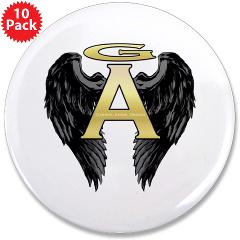 "Archangel Wings 3.5"" Button (10 pack)"