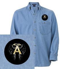 Archangel Wings Denim Shirt