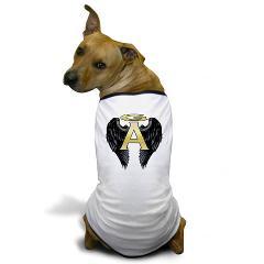 Archangel Wings Dog T-Shirt