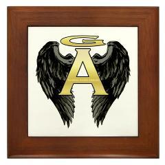 Archangel Wings Framed Tile